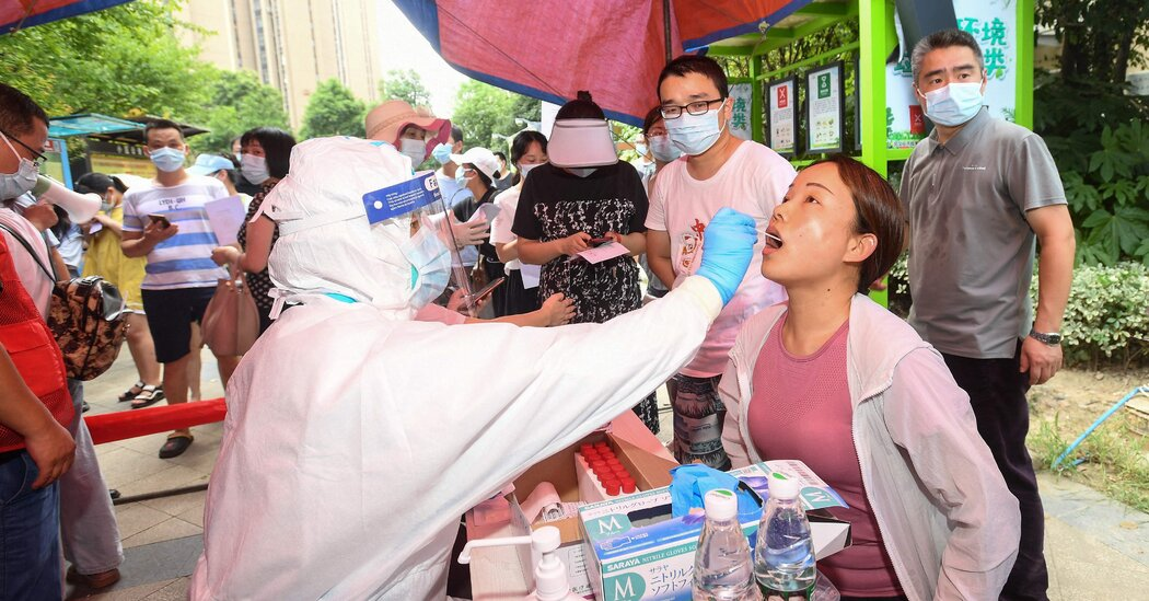 Wuhan Will Test All Residents Amid Its First Covid Outbreak in a Year