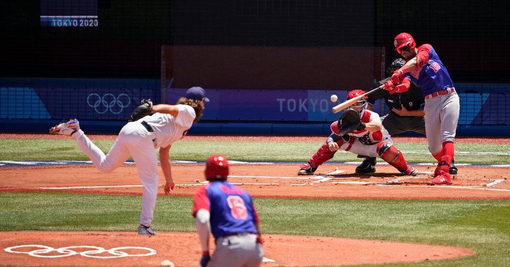 U.S. Baseball Beats Dominican Republic, Advances to Semifinal