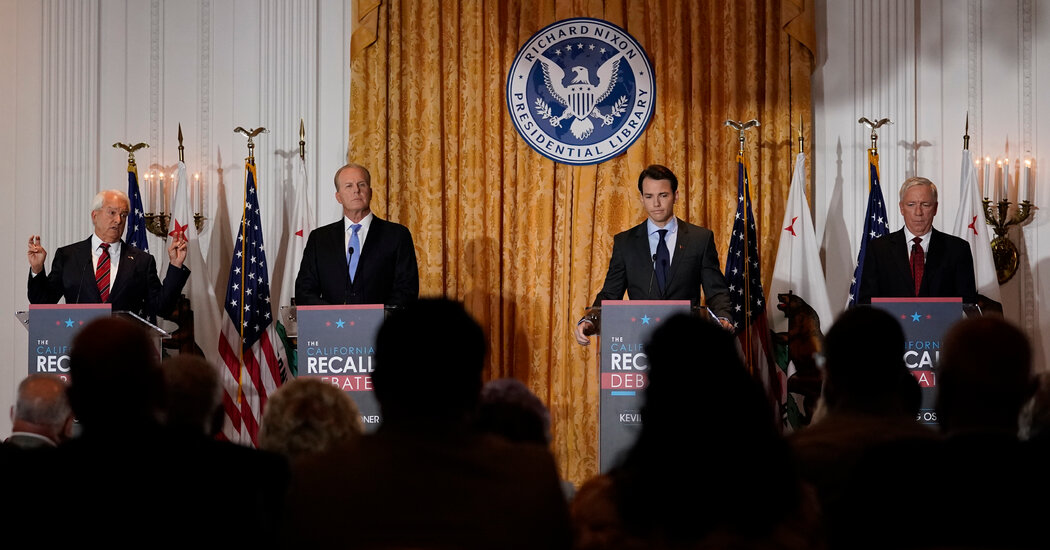 The First Debate in the Newsom Recall