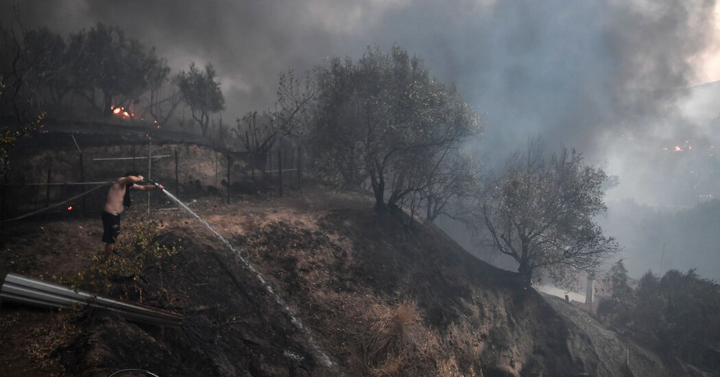 In Photos: Fires Ravage Southern Europe