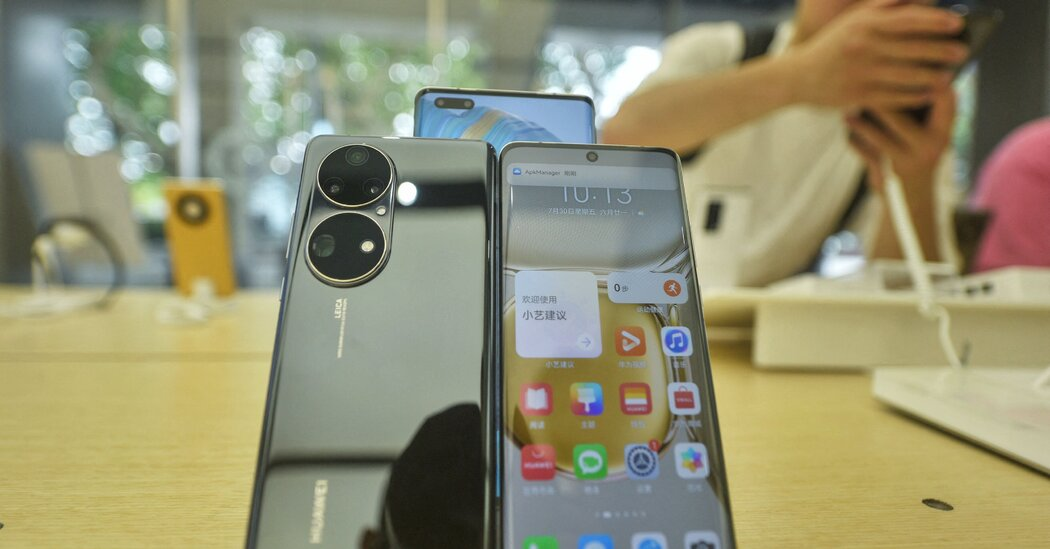 Huawei's sales tumble as phone buyers flee the Chinese giant.
