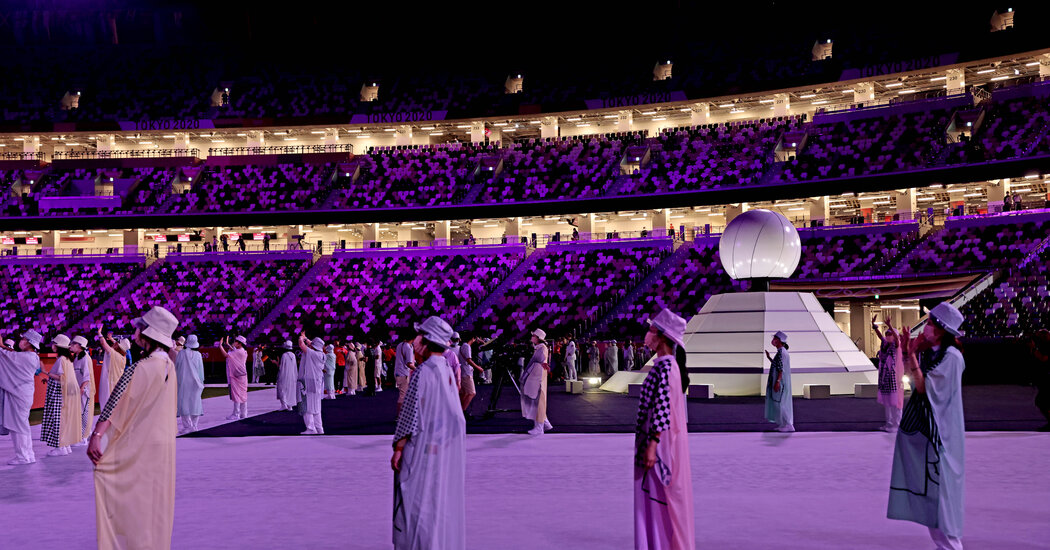 Olympics Closing Ceremony Ends With an Empty Feeling