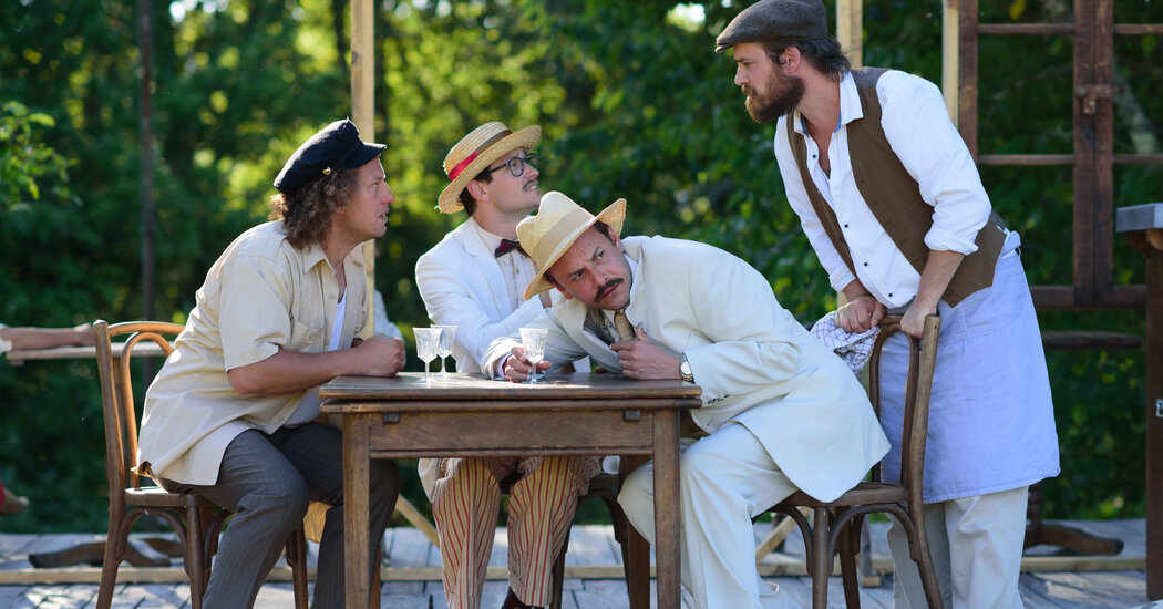 Finding a New Theater Audience, Far From France's Cities