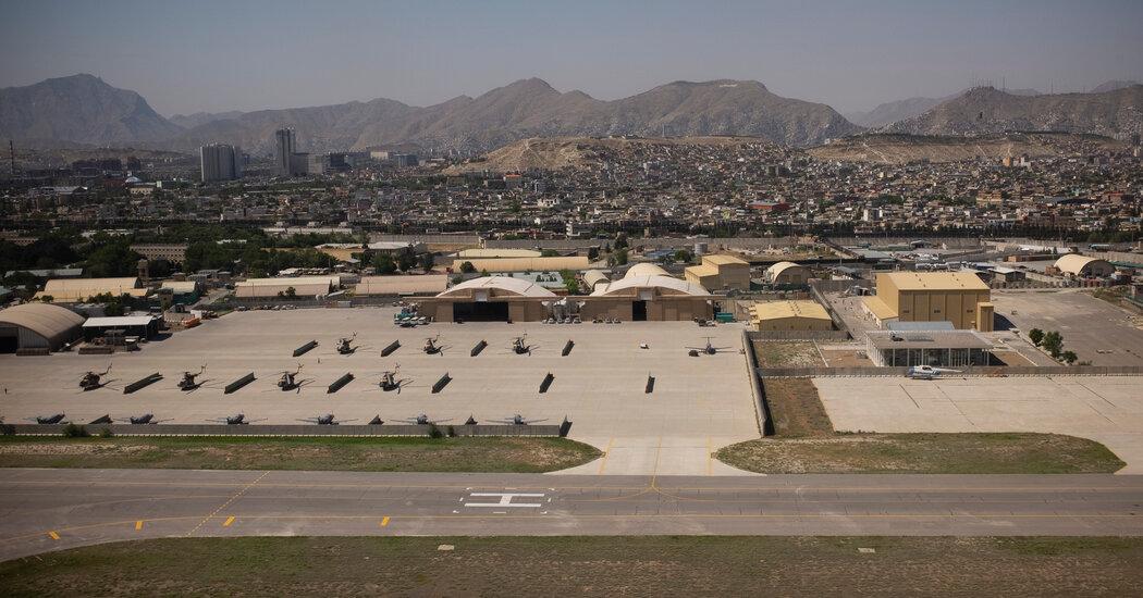 Marines Prepare for Possible Evacuation of Americans in Afghanistan