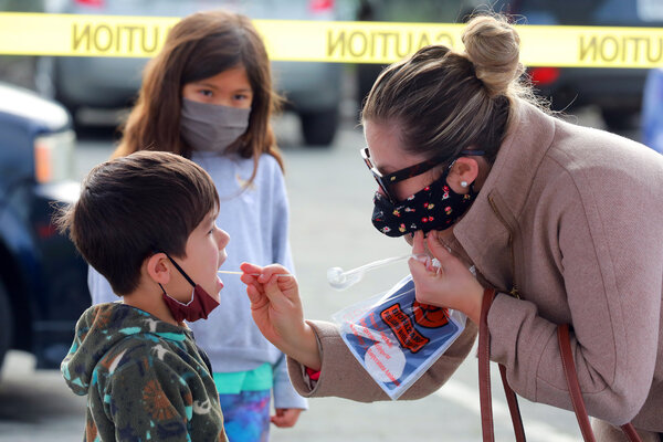 Despite efforts to mitigate the risks of the coronavirus in Marin County, Calif., a teacher who was unmasked and unvaccinated infected her students with the Delta variant.