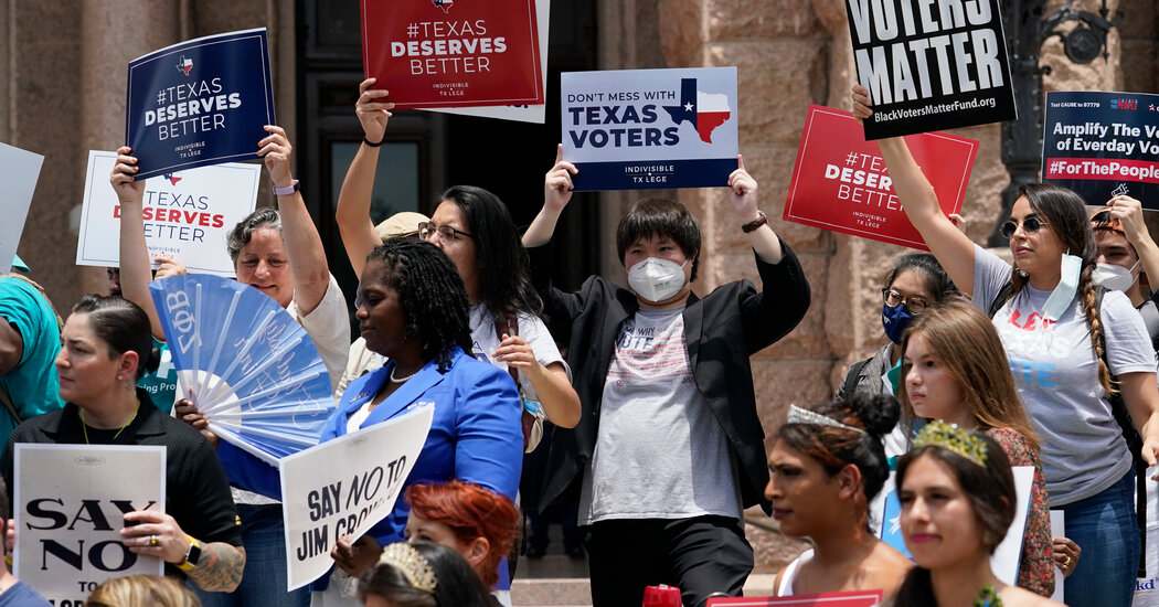 , The Business of Voting in Texas, The Habari News New York