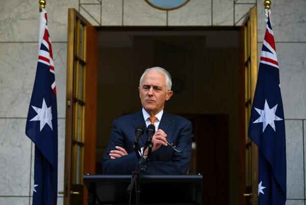 Australia's harder line on China began to take shape under Malcolm Turnbull, the former prime minister.