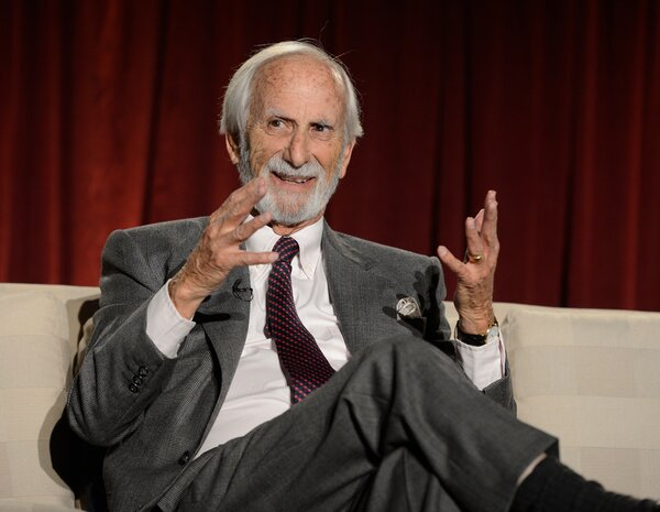 Mr. Sandrich at an Academy of Television Arts and Sciences panel discussion in Los Angeles in 2013. His TV career began in the 1950s and continued into the 21st century.