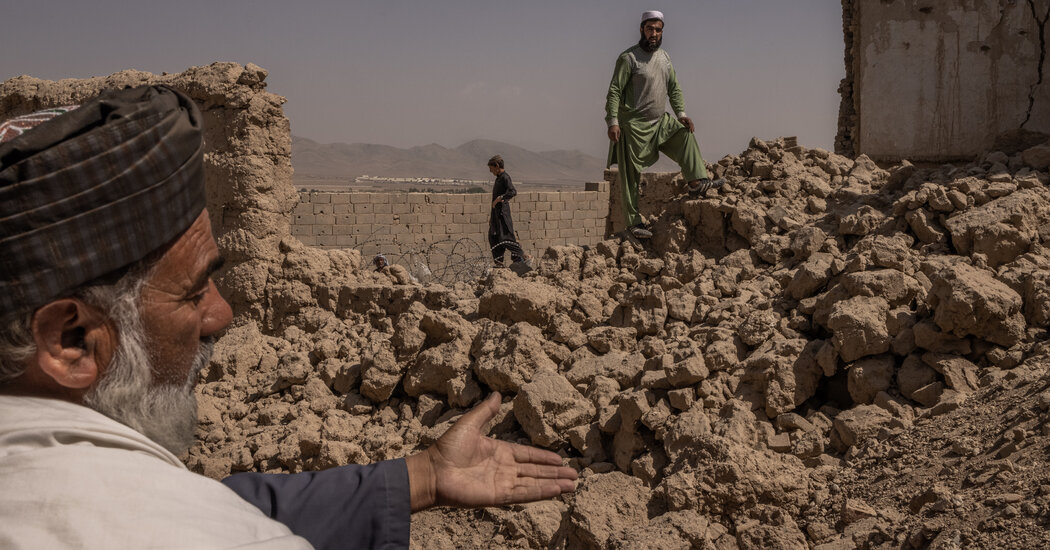 Ruined in rubble, an Afghan village struggles to rebuild