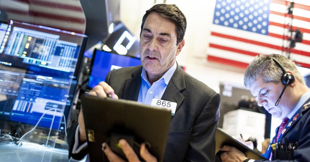Stocks fall, swell in September's losses.