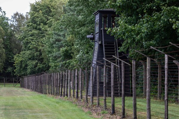 The former Nazi concentration camp Stutthof in July last year.