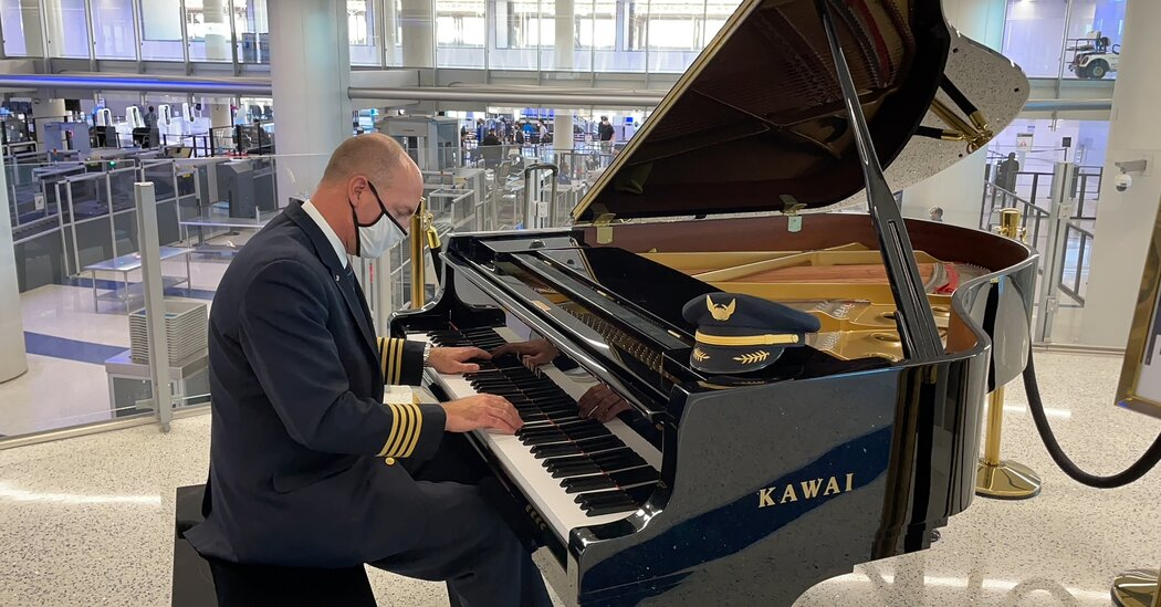 , Passing the Time With a Piano-Playing Pilot, The Habari News New York
