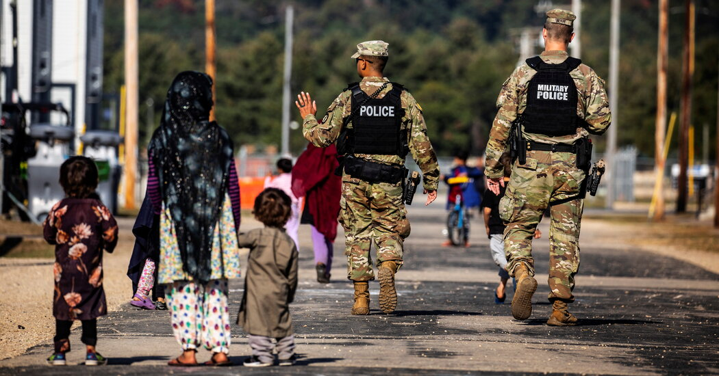 , Afghan Evacuees Stranded on U.S. Military Bases, Nzuchi Times National News