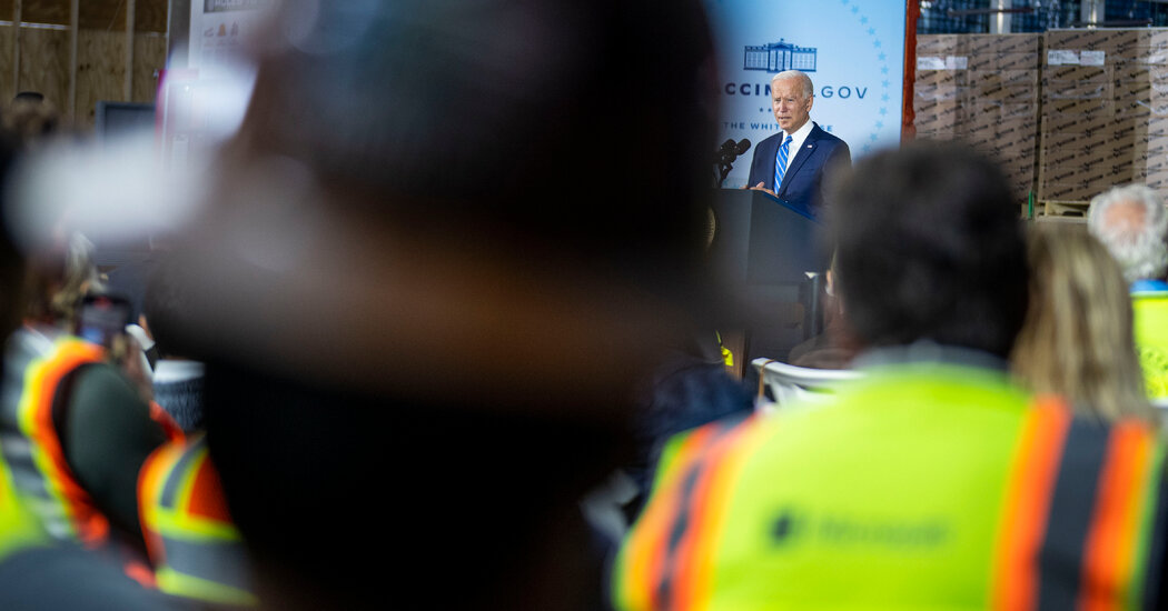 , Biden Says Vaccine Mandates Are the Only Way to Defeat Covid, The Habari News New York
