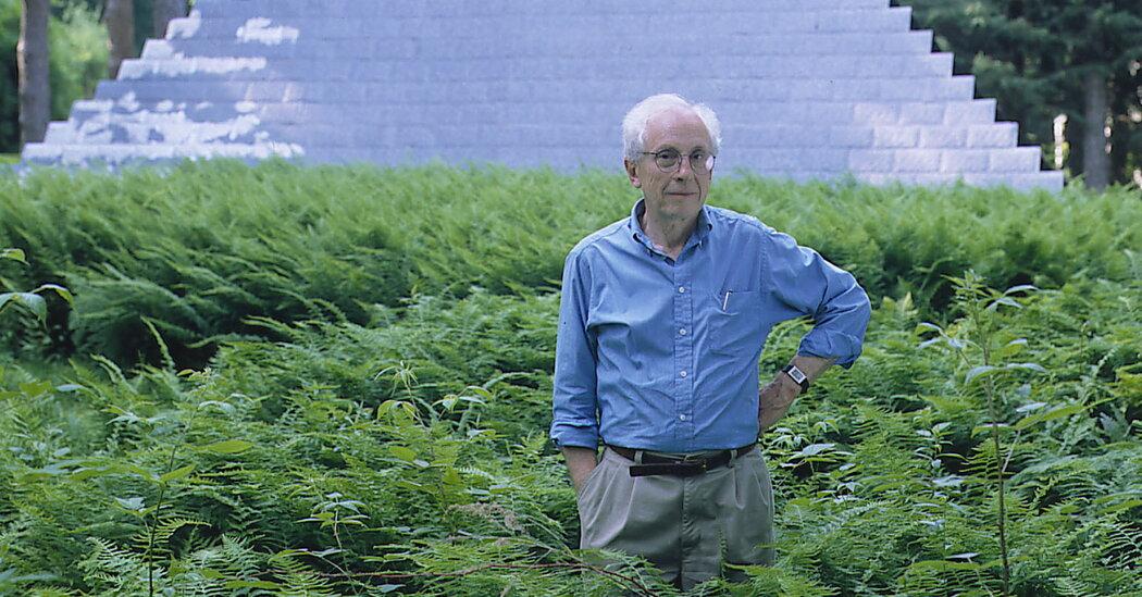 , Richard Schultz, Designer Who Made the Outdoors Modern, Dies at 95, The Habari News New York