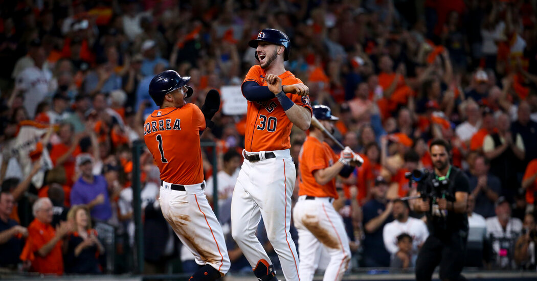 , NLDS: Houston Astros Take 2-0 Series Lead of Chicago White Sox, The Habari News New York