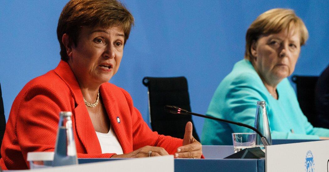 , I.M.F.'s Executive Board Says Kristalina Georgieva Can Remain, The Habari News New York