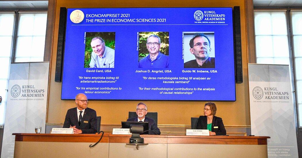 , David Card, Joshua Angrist and Guido Imbens Win Nobel in Economics 2021, The Habari News New York
