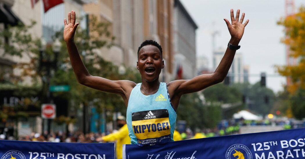 , Diana Kipyokei Wins the Women's Race at the Boston Marathon, The Habari News New York