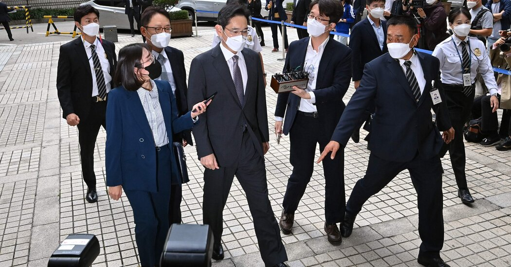, Samsung Chief Lee Jae-yong Pleads Guilty to Drug Charge, The Habari News New York