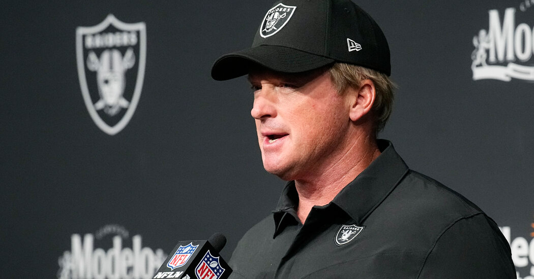 , Jon Gruden Resigns After Homophobic and Mysogynistic Comments, Nzuchi Times National News