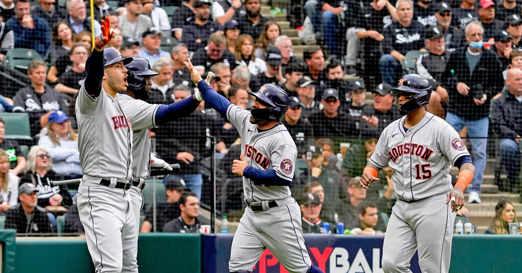 , Houston Astros Will Face Boston Red Sox in ALCS, The Habari News New York
