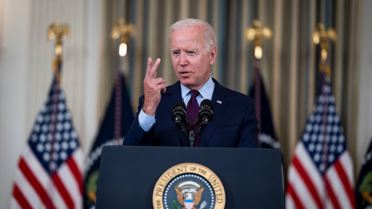 , President Biden says the White House is taking steps to address supply chain snarls caused by the pandemic., The Habari News New York