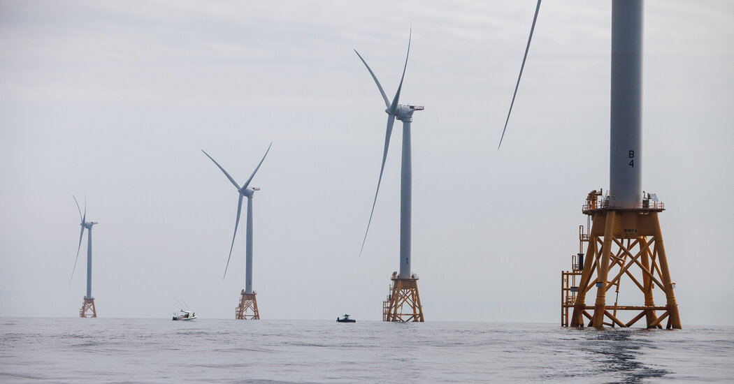, Biden Administration Plans Wind Farms Along Nearly the Entire U.S. Coastline, The Today News New York