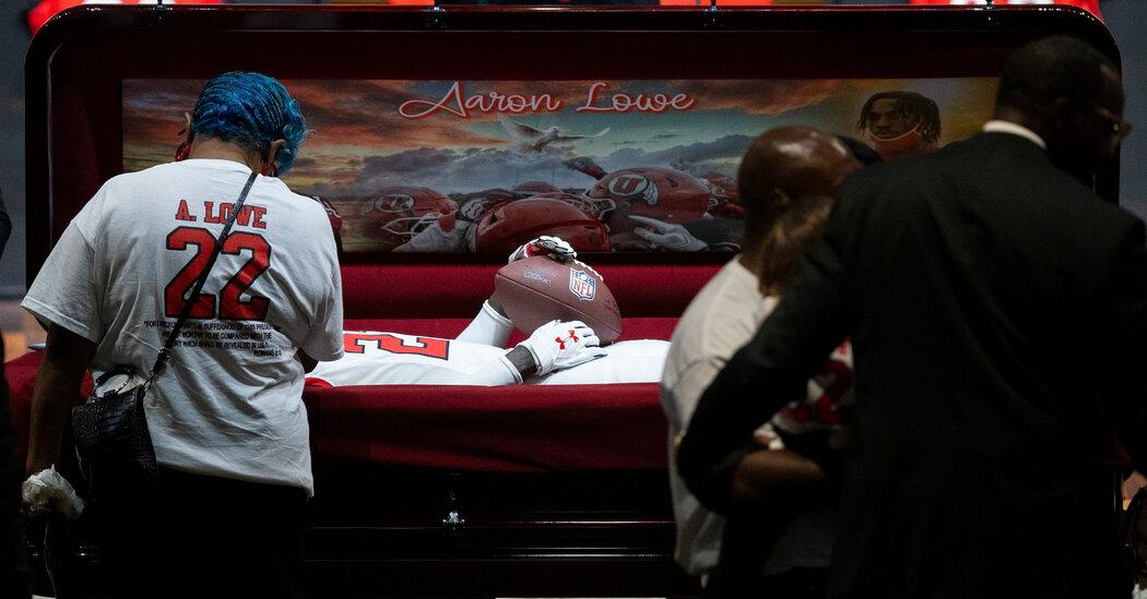 , Utah's Final Goodbye to Aaron Lowe Echoes an Earlier Funeral, The Habari News New York