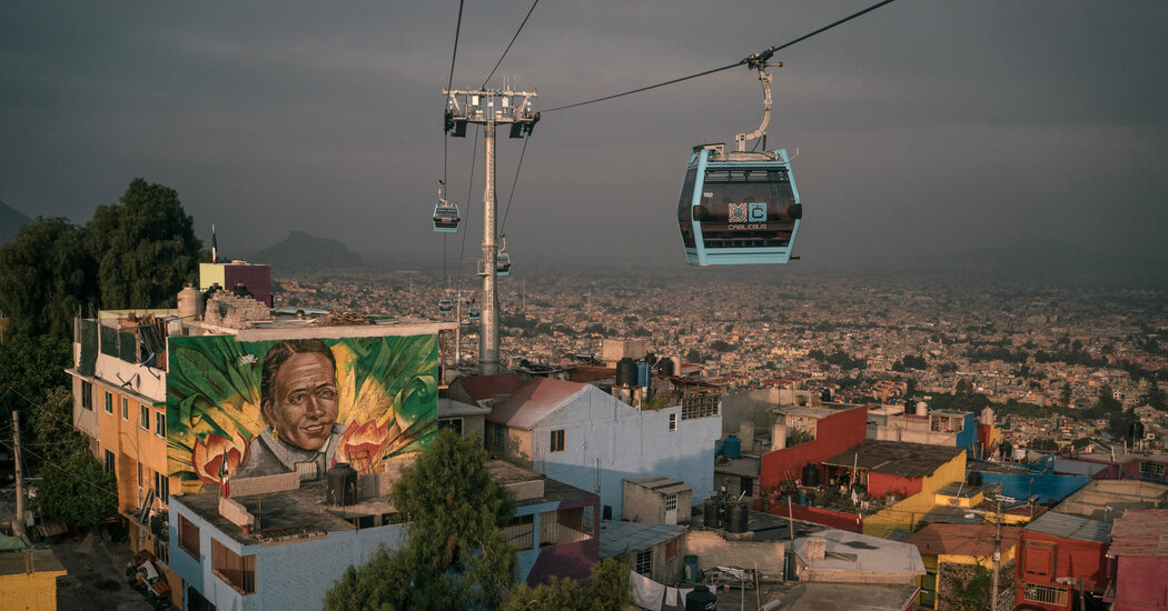 , Exuberant Art and Cable Car Can Lift a Poor, Violent Place Only So High, The Habari News New York