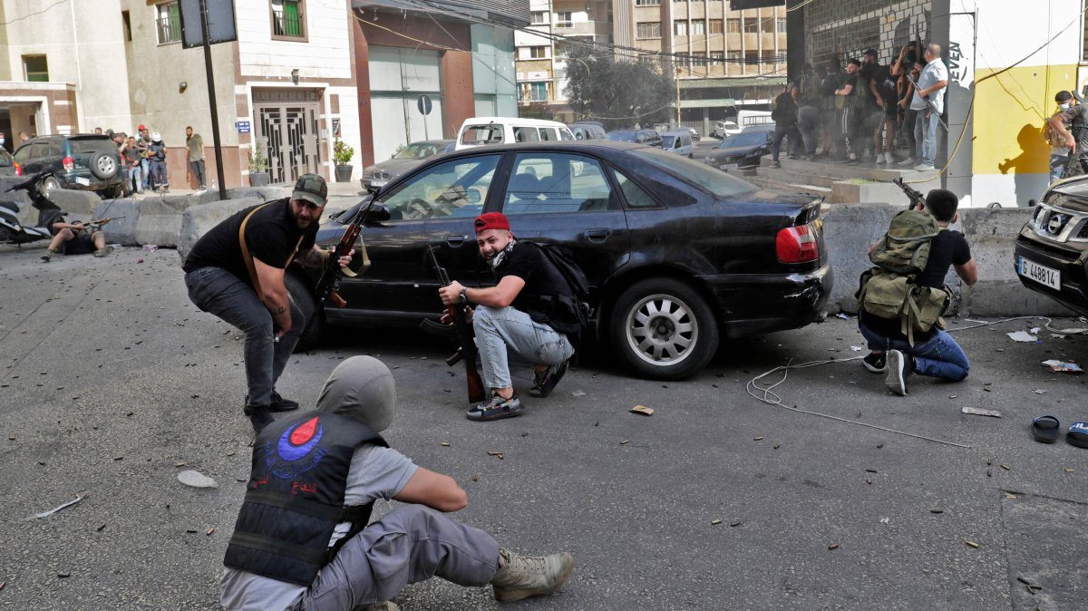 , Beirut Rocked by Worst Sectarian Fighting in Years, The Evepost National News