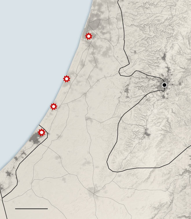 More Than 30 Dead in Gaza and Israel as Fighting Quickly Escalates - The New York Times