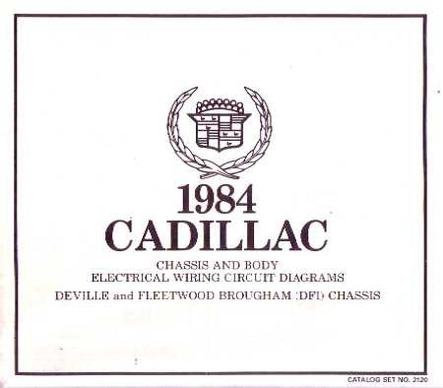 Oem Wiring Schematics Cadillac Deville Fleetwood Brougham