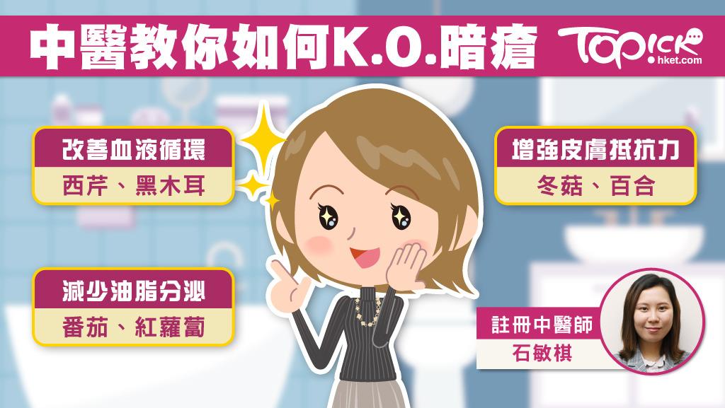 跟暗瘡講拜拜 中醫教食番茄減油脂分泌KO暗瘡 - 香港經濟日報 - TOPick - 健康 - D180417