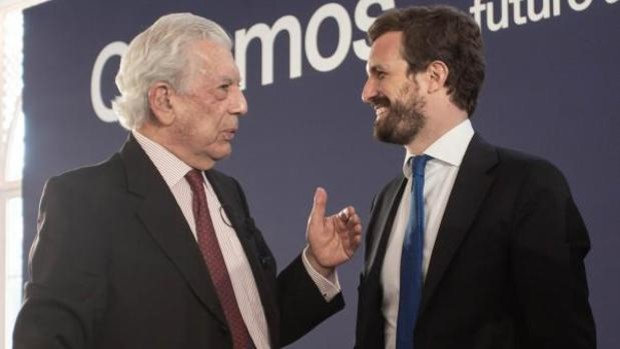Vargas Llosa, otro desencantado de Ciudadanos que ahora votará al PP