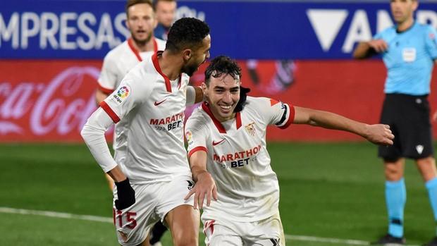 Huesca - Sevilla: las notas de los jugadores