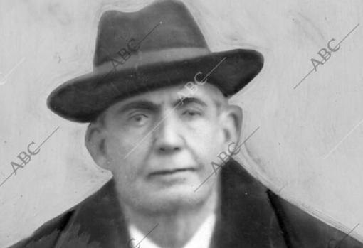 Retrato Delgado Guzmán, conocido como «El Federal»