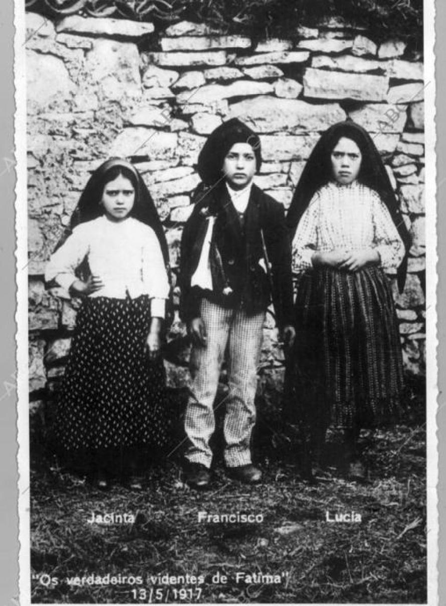 Los tres pastorcillos de Fátima