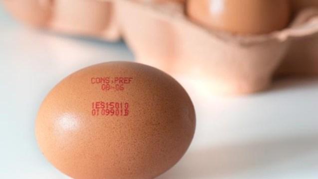 Qué significa el código de barras del huevo?