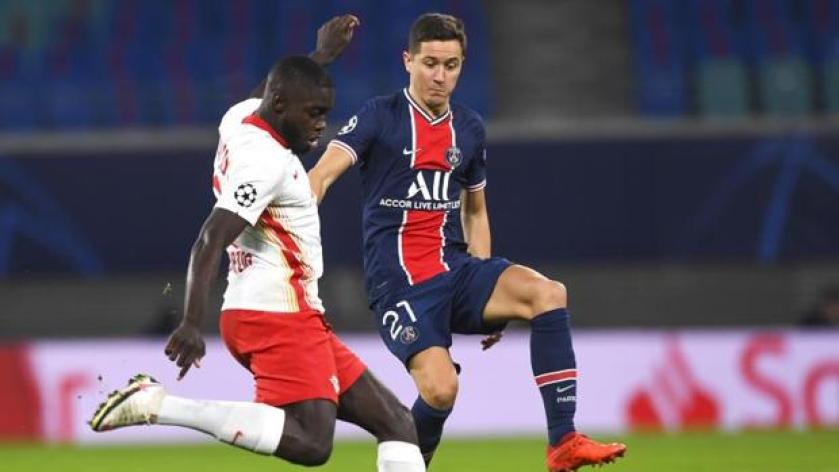 Leipzig 2 - PSG 1: El Leipzig se venga de un lesionado PSG