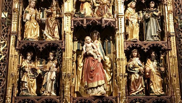 Patrimonio: La catedral de Cuenca ya exhibe el retablo flamenco de ...