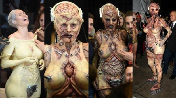 La transformación de Heidi Klum para su fiesta de Halloween