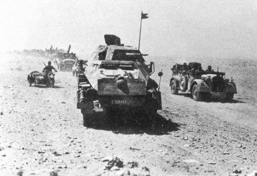 Avance de la 39 División Panzer