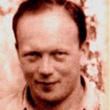 Lazowski, en un retrato de los años 40