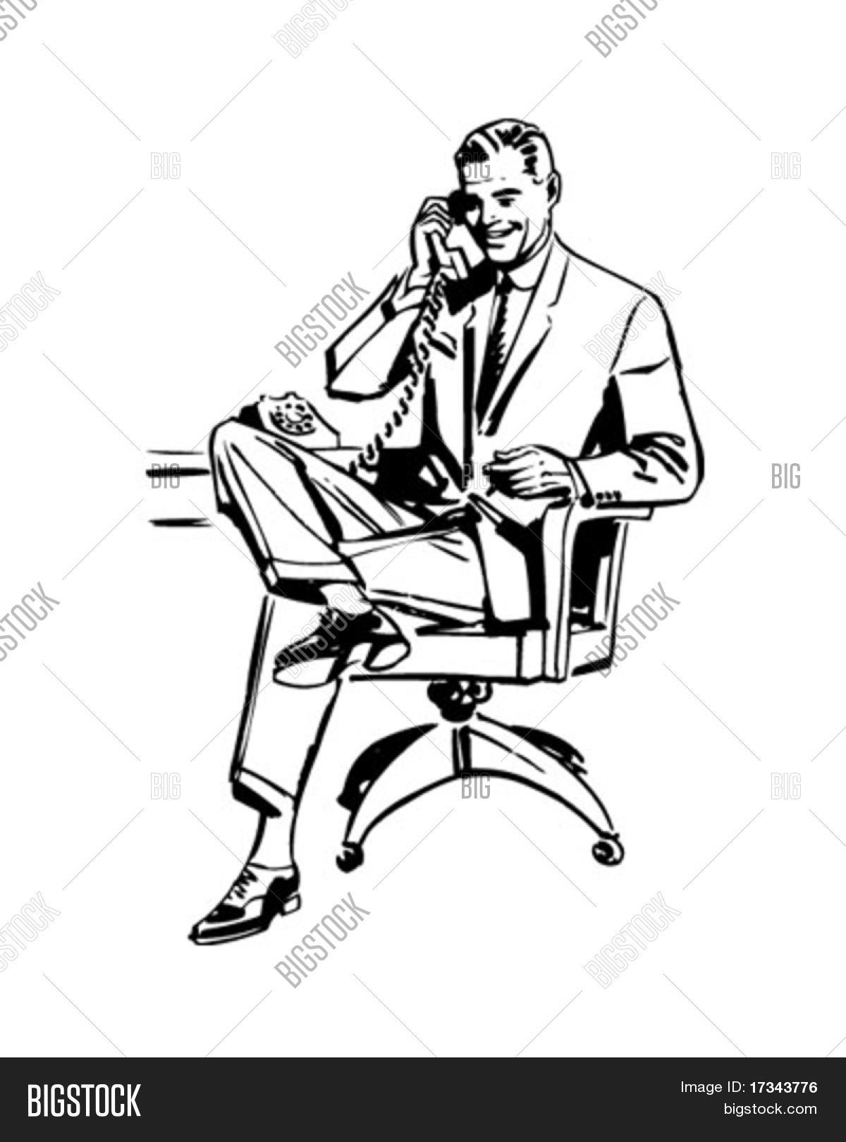 Man Office Chair