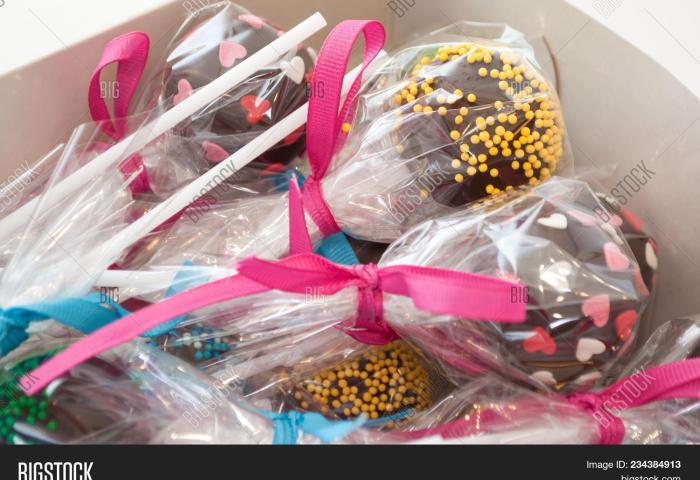 Cake Pops Packed Image Photo Free Trial Bigstock