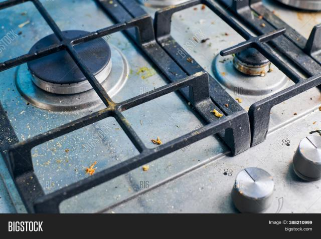 Dirty Gas Stove Top Image & Photo (Free Trial)  Bigstock