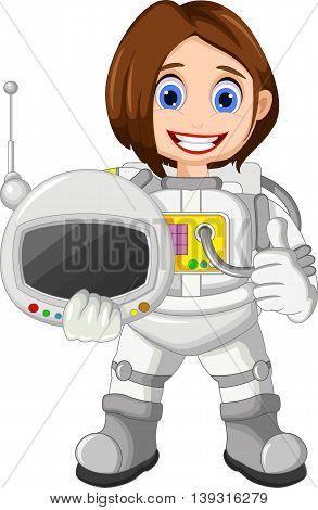 Cute Girl Cartoon Vector & Photo (Free Trial) | Bigstock