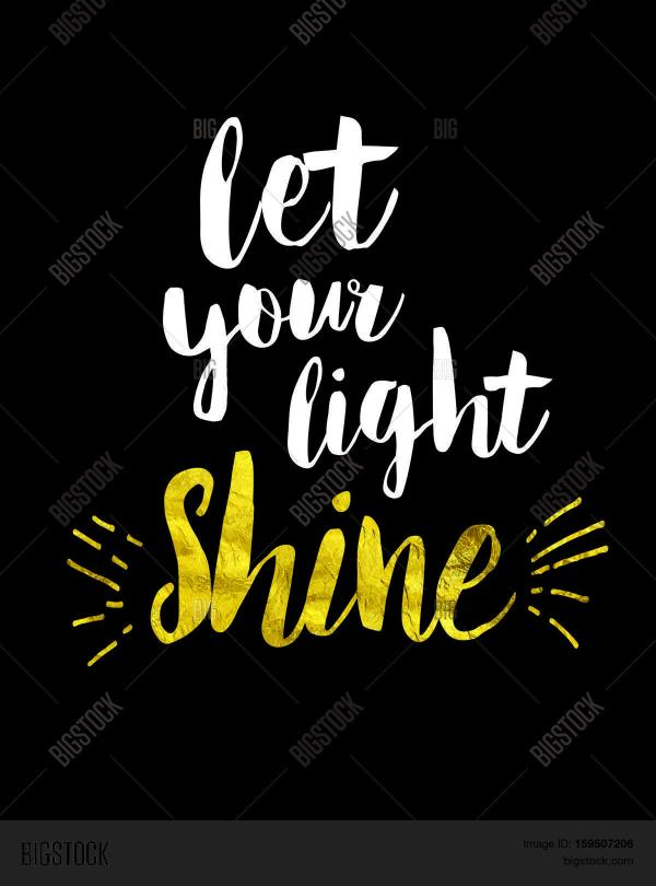 Let Your Light Shine Image & Photo (Free Trial) | Bigstock