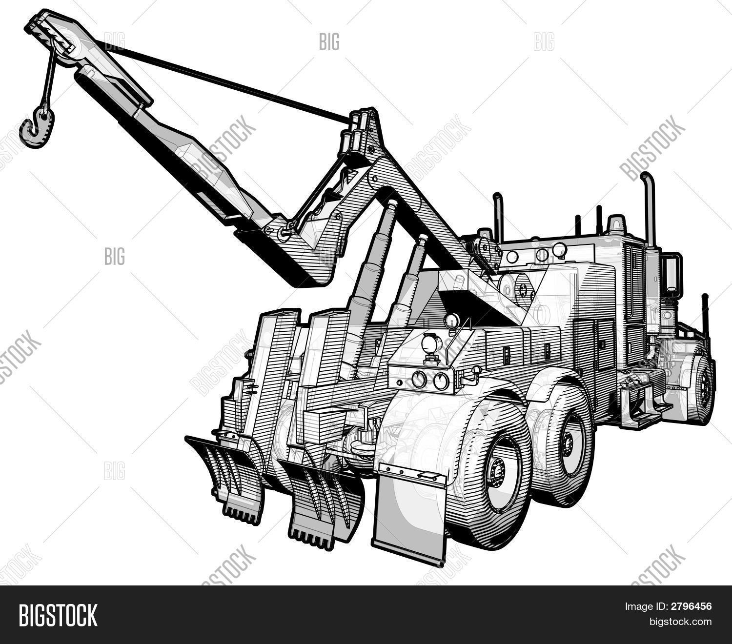 Tow Truck Image Amp Photo Free Trial